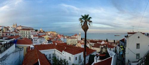 Architektur von Lissabon - Leben und Arbeiten in Portugal