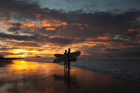 The Bay of Plenty Sunset