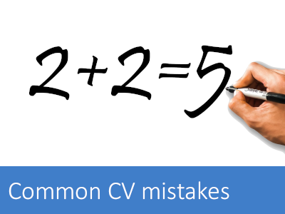 The top marketing CV mistakes - avoid these for an impactful marketing CV