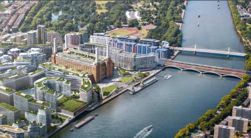 Battersea Power Station, Major UK Construction Projects to Watch in 2018