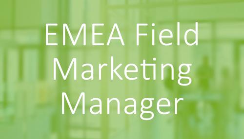 Software & Technology Marketing Jobs - EMEA Field Marketing Manager Job