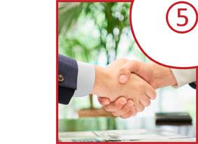 お仕事ご紹介サービスのプロセス5-内定(および交渉)