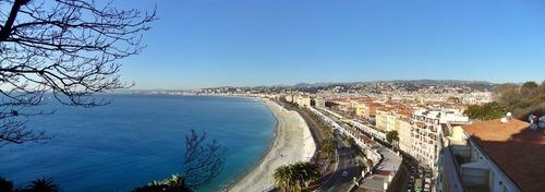 Küstenlandschaft in Frankreich - Leben und Arbeiten im Ausland
