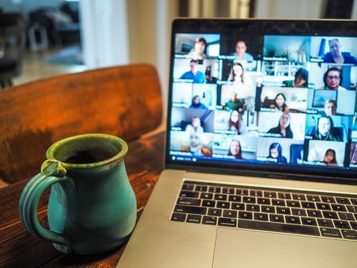 encourage virtual socialising