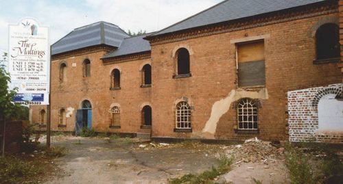 The local derelict malting house in Stourbridge, which has become the Company's headquarters