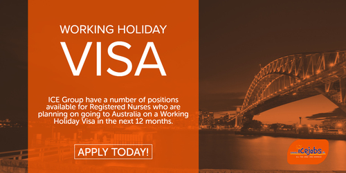 ICE Nurse Working Holiday Visa