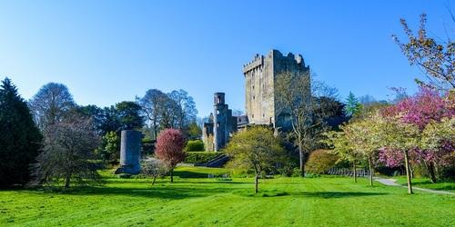 Blarney Schloss in Cork - Leben und Arbeiten in Irland