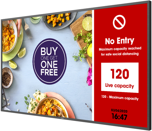 Philips People Count by NowSignage and Hikvision