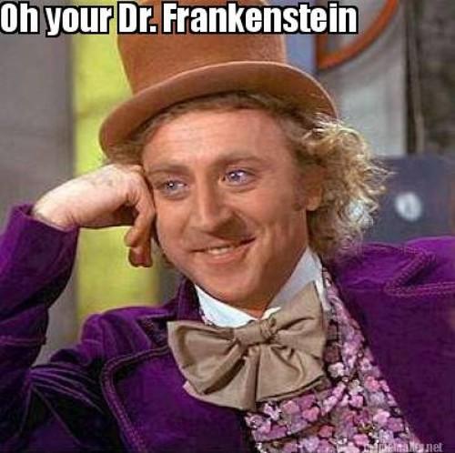 frankenstein meme