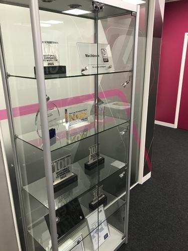 Macildowie Trophy Case