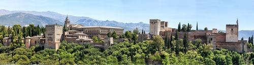 Alhambra in Granda - Leben und Arbeiten in Spanien