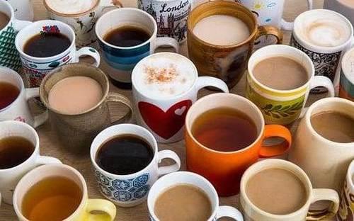 lots of cups of tea