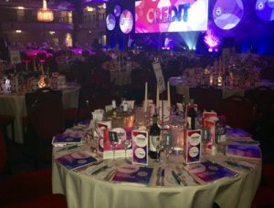 The MERJE table at the Credit Awards 2017