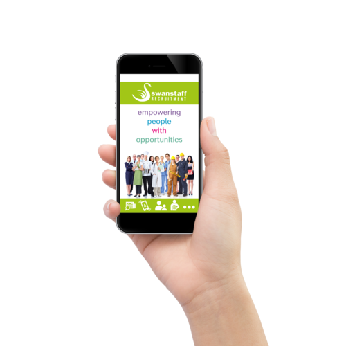 Swanstaff Recruitment mobile app