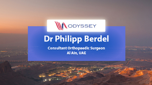 Case Study Dr Philipp Berdel Orthopaedic Surgeon UAE