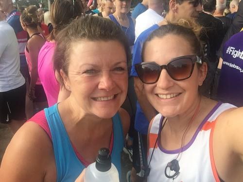 Worcester 10k for  Grace Kelly Childhood Cancer Trust - Kate & Jen