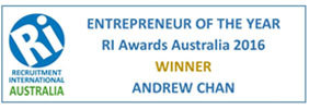 recruitment international entrepreneur of the year 2016 andrew chan