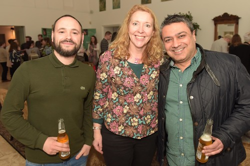 Rob Green, Colette Jeffrey and Vineet Raheja