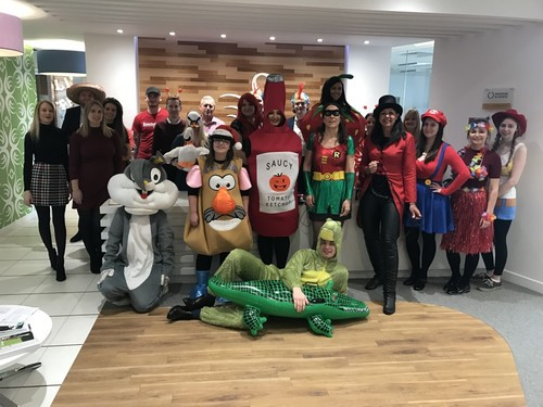 swanstaff recruitment dress up for children in need