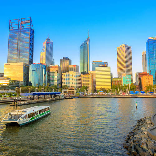 Central Business District Perth Western Australia