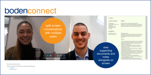 BodenConnect - online video interviewing platform for the FM sector