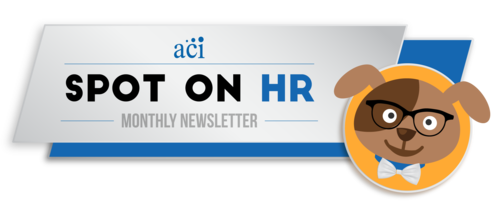 aci spot on hr logo