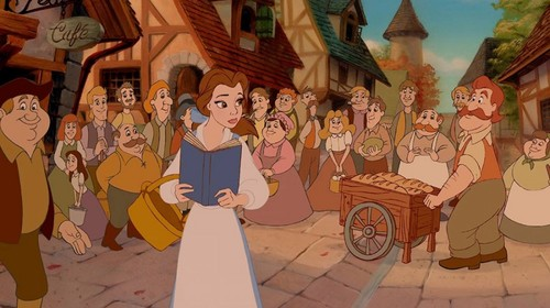 beauty and the beast scene