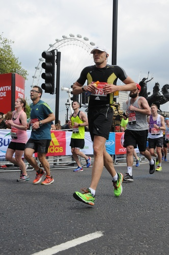 Rob Markwell Running London Marathon