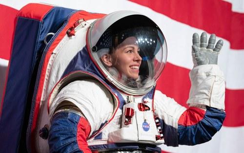 NASA's spacesuit reveal
