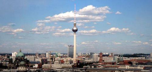 Fernsehturm Berlijn - Werken in Berlijn