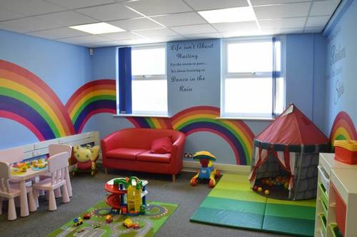 Swan family centres rainbow room