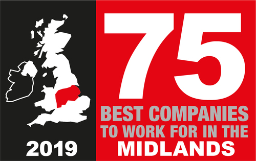 Sunday Times 75 Best Companies To Work For in the Midlands