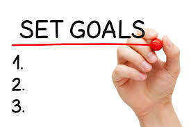 set goals image