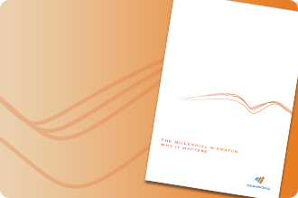 An image of a white research paper about technology with ManpowerGroup logo at the bottom