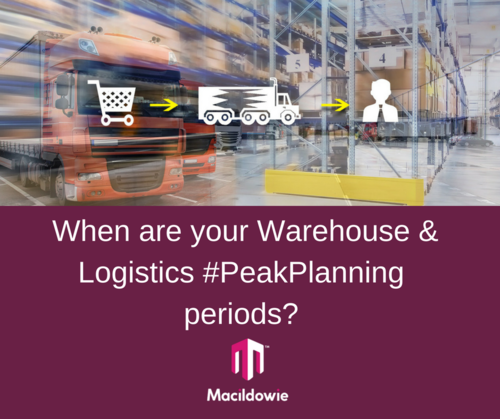 Warehouse and Logistics Peak Planning Periods