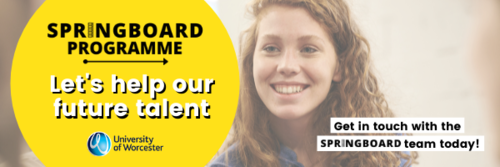 University of Worcester Springboard Programme Work Experience opportunities for students