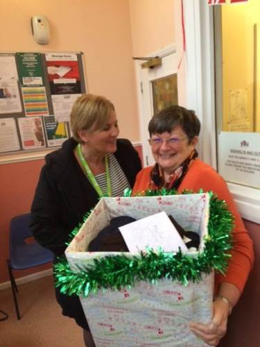 Swanstaff Recruitment Christmas crates campaign