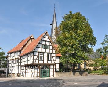 Typisch Duits huis - werken in Duitsland