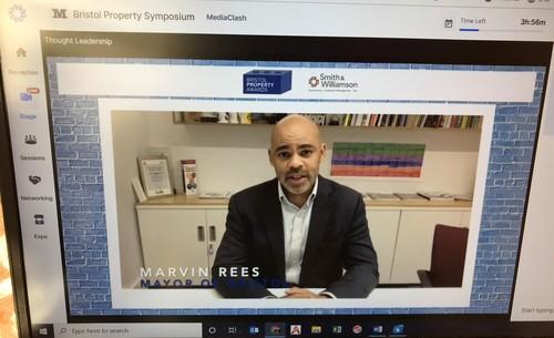 Marvin Rees Mayor of Bristol