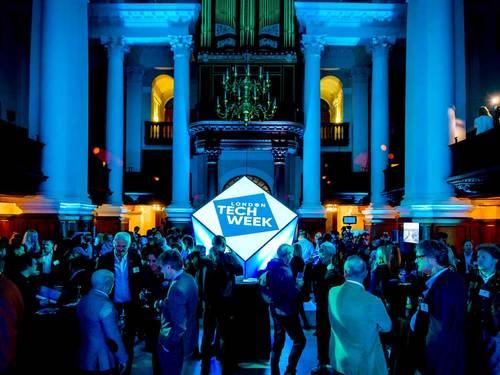 London Tech week conference