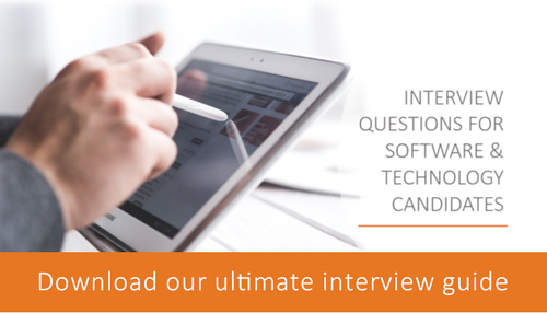 Download our guide to interviewing Marketing candidates in the software and technology industries