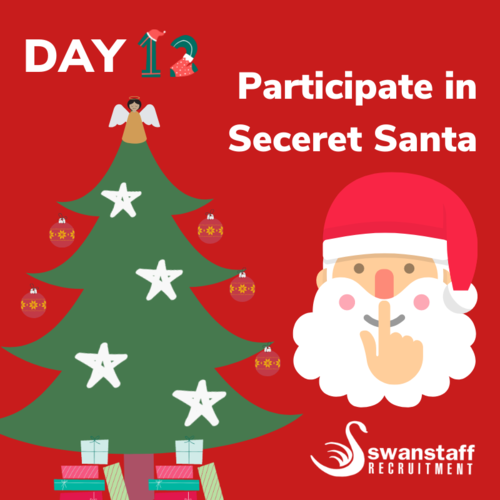 participate in secret santa