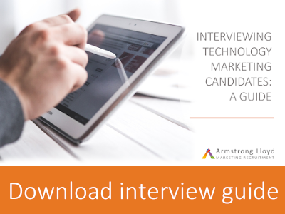 Download our guide to interviewing marketing technology candidates