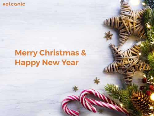 Merry Christmas from Volcanic