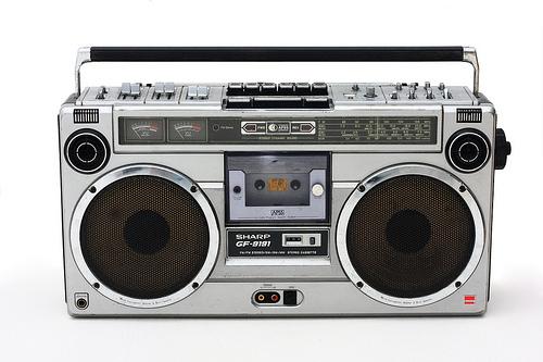 radiocassettte
