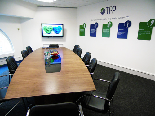 TPP Giving Back - free boardroom hire