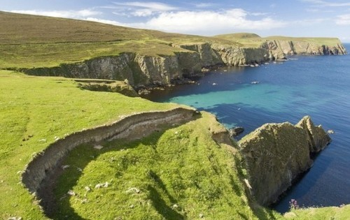 Groene kust - werken in Engeland