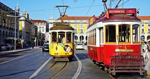 Trams in Portugal - Leben und Arbeiten in Portugal