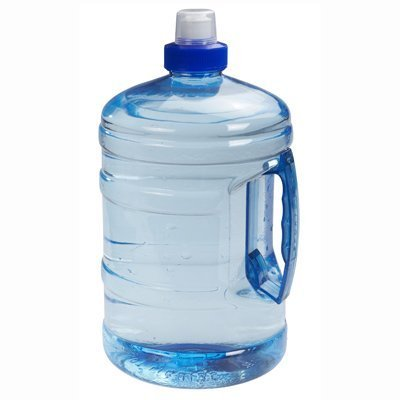 big bottle of water to keep hydrated