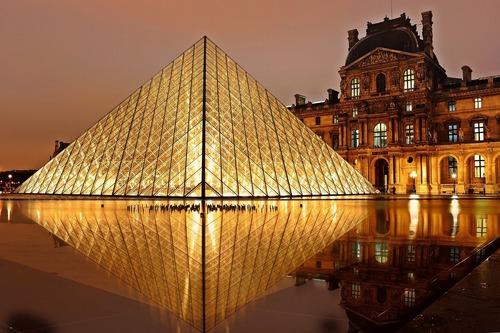 Louvre Museum in Paris - Leben und Arbeiten in Frankeich